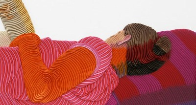 Martin Fenne, detail van Sleepers #7