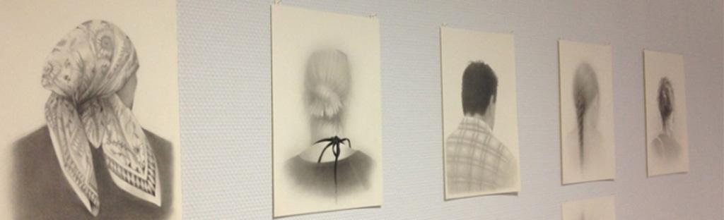 tekeningen van Aline Eras in ziekenhuis Rijnstate