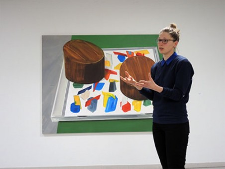 Britt Dorenbosch vertelt in Rijnstate over haar werk