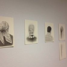 Detail tentoonstelling in Rijnstate