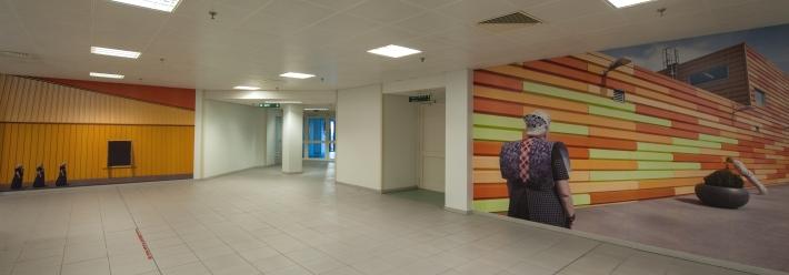 Wallpapers van Spakenburgse diva's, gemaakt door Het Wilde Oog