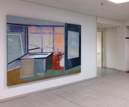 Z.t., acryl/olie op doek, 180 x 240 x 7 cm, 2015