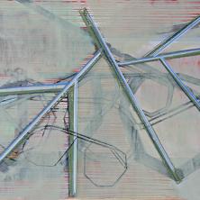 zonder titel, 2013, 110 x 140 x 7 cm